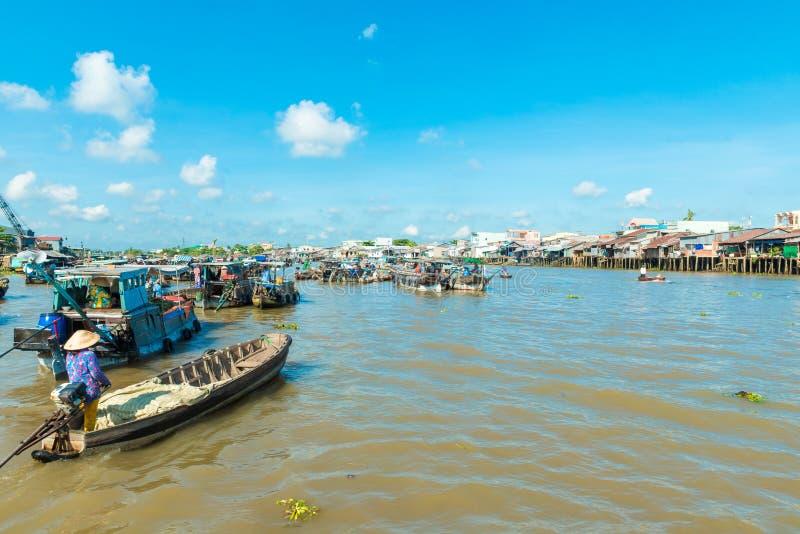 Mekong spławowy rynek obrazy stock