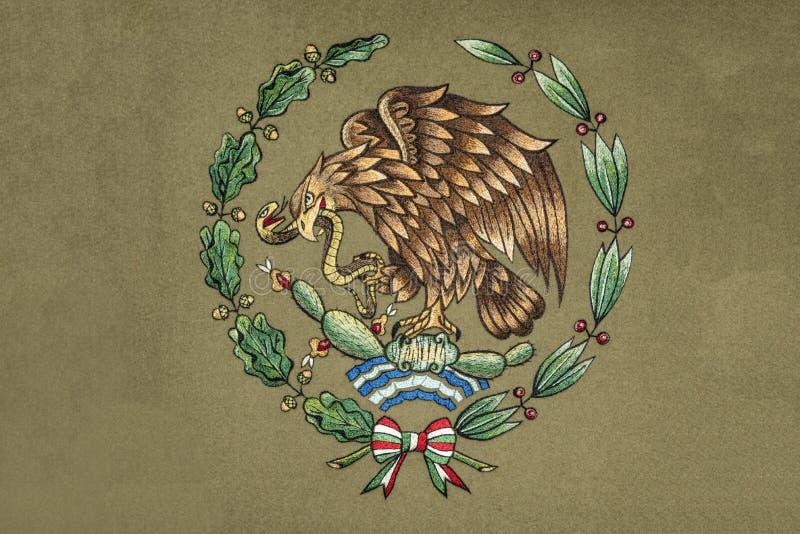 Meksyk żakiet ręka royalty ilustracja