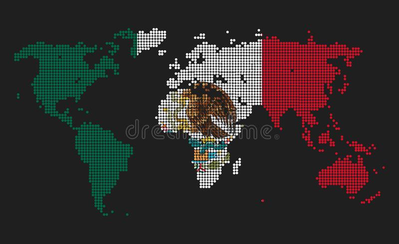 Meksyk royalty ilustracja