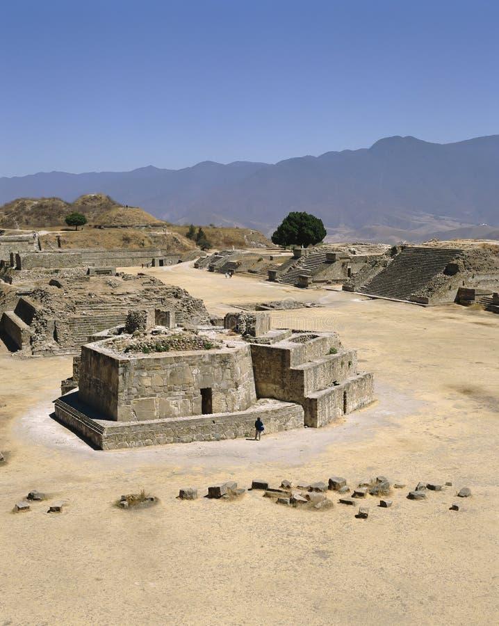 Meksyk Monte Alban Archaelogical miejsce zdjęcie royalty free