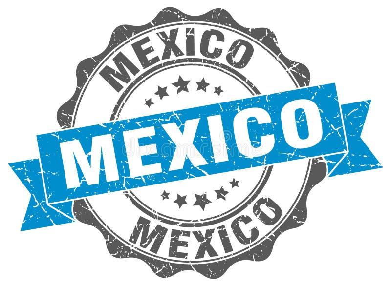 Meksyk round tasiemkowa foka ilustracji