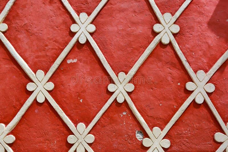 Meksykańscy tradycyjnego budynku dekoraci szczegóły obraz royalty free