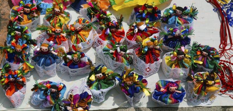 Meksykańska gałganianych lal zabawka obraz royalty free