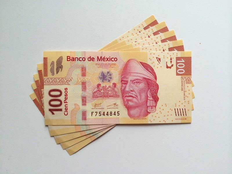 Meksykańska waluta fotografia stock