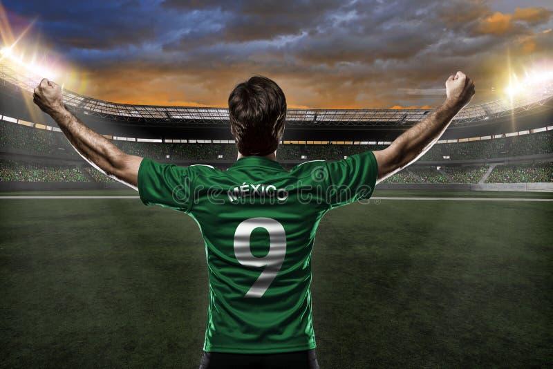 Meksykański gracz piłki nożnej fotografia stock