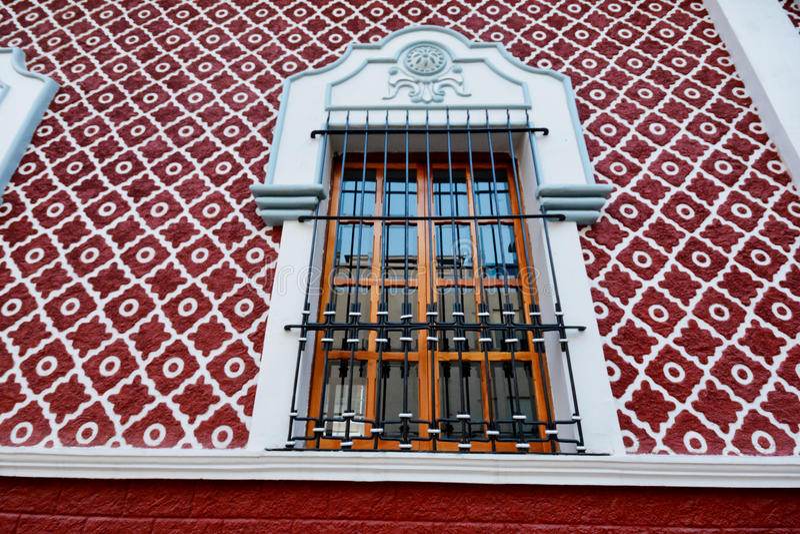Meksykański okno obraz royalty free