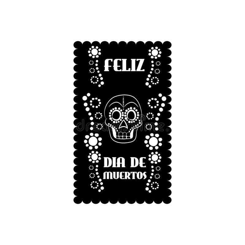 Meksykański sztandar, Mexico ilustracji