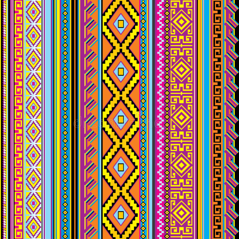 Meksykański tło royalty ilustracja