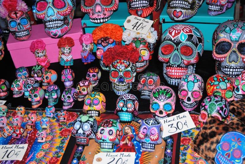 Meksykańskie czaszki zdjęcie royalty free