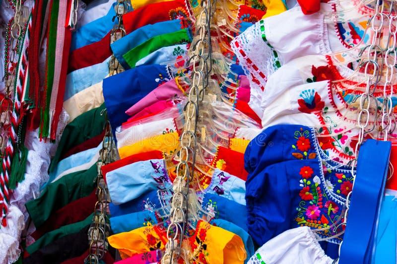 Meksykańskie suknie zdjęcie stock