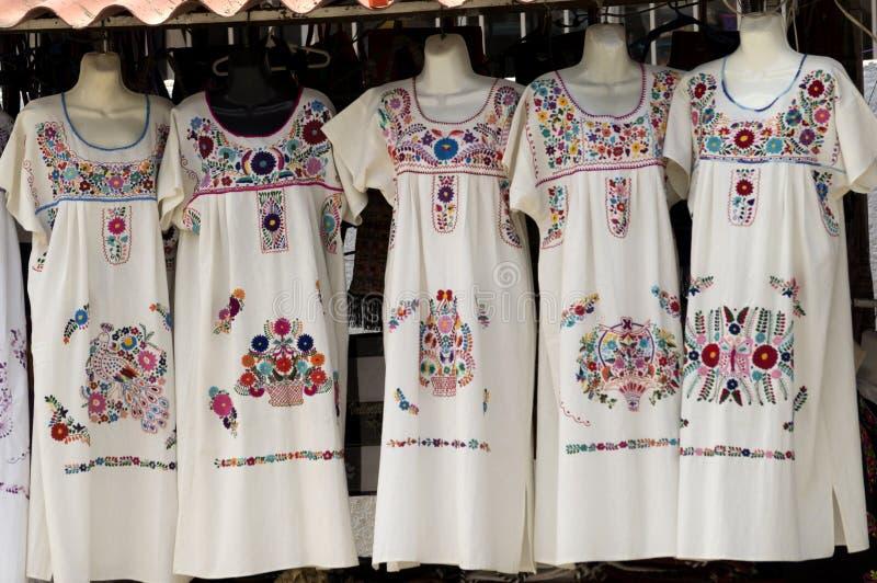 Meksykańskie suknie obraz royalty free