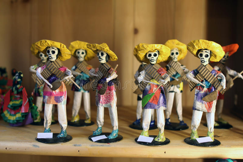 Meksykańskie zredukowane lale zdjęcie royalty free