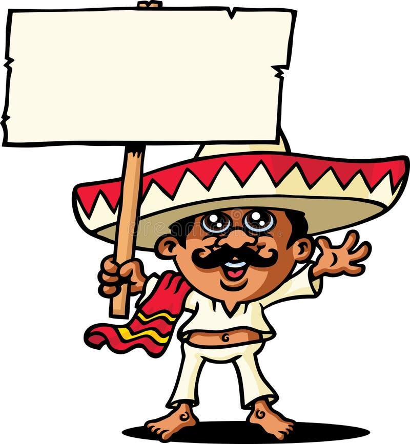 meksykanin royalty ilustracja