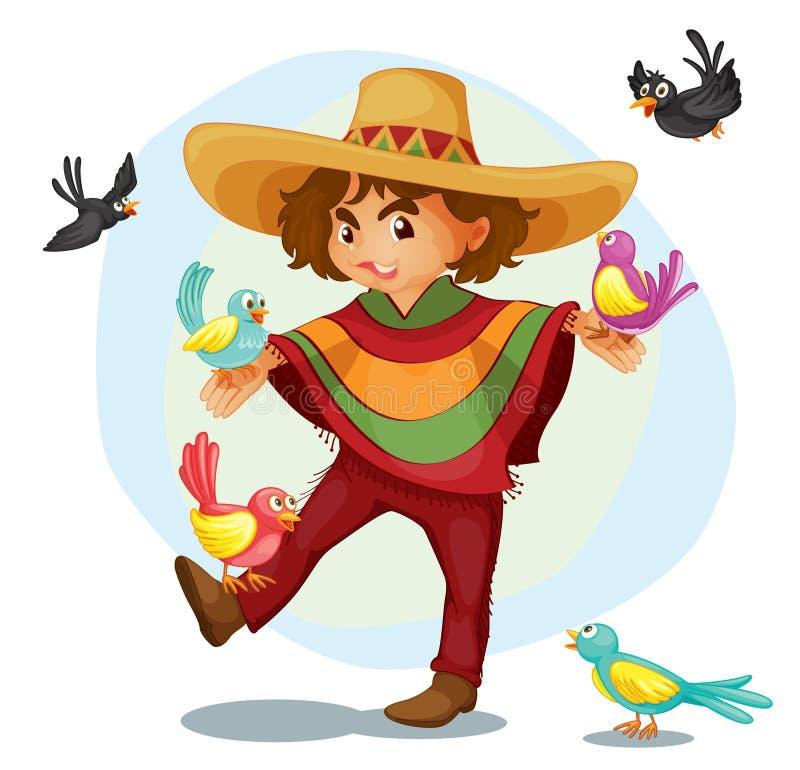 meksykanin ilustracja wektor