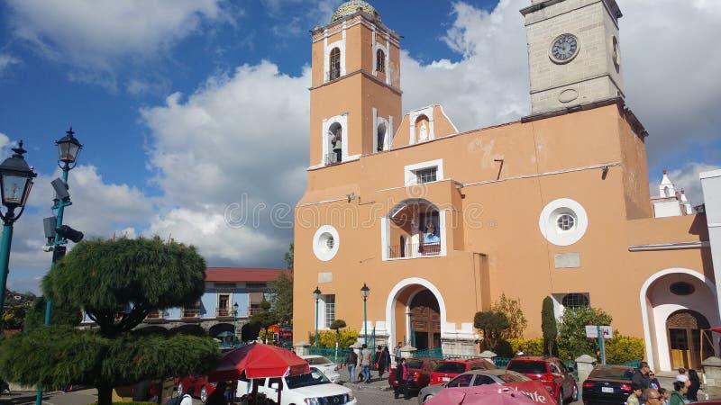 meksykanin kościoła zdjęcie royalty free
