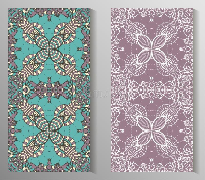Meksykanin stylizujący Talavera tafluje bezszwowego wzór Tło dla projekta i mody Język arabski, indianów wzory royalty ilustracja