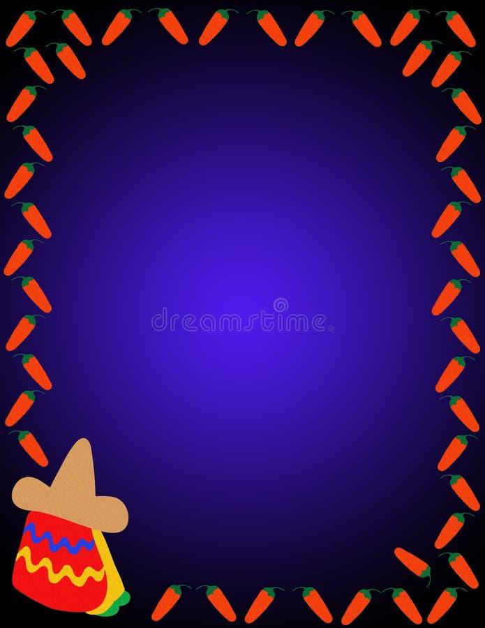 meksykanin tło ilustracji