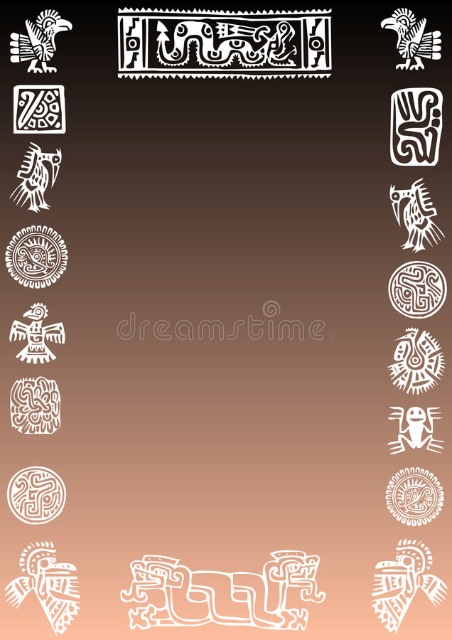 meksykanin tło royalty ilustracja
