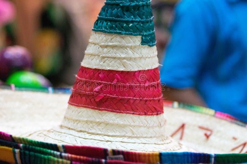meksykanin tradycyjne kapelusza zdjęcie stock