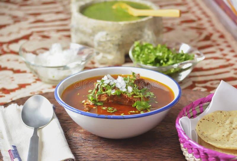 Meksykanin wołowiny stylowy gulasz zdjęcie royalty free