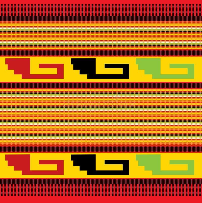 meksykanina bezszwowy deseniowy royalty ilustracja