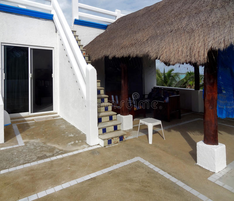 Meksykanina dachu taras obraz stock