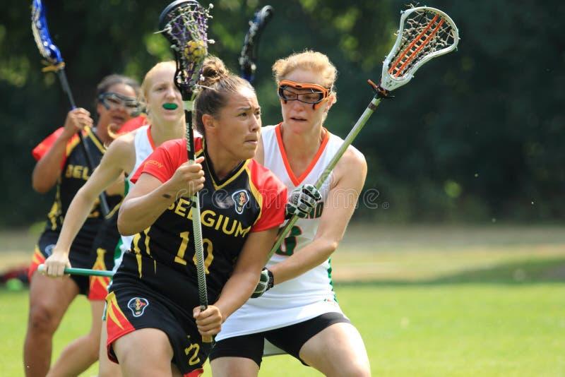 Mekwan Tulpin - Lacrosse lizenzfreies stockbild