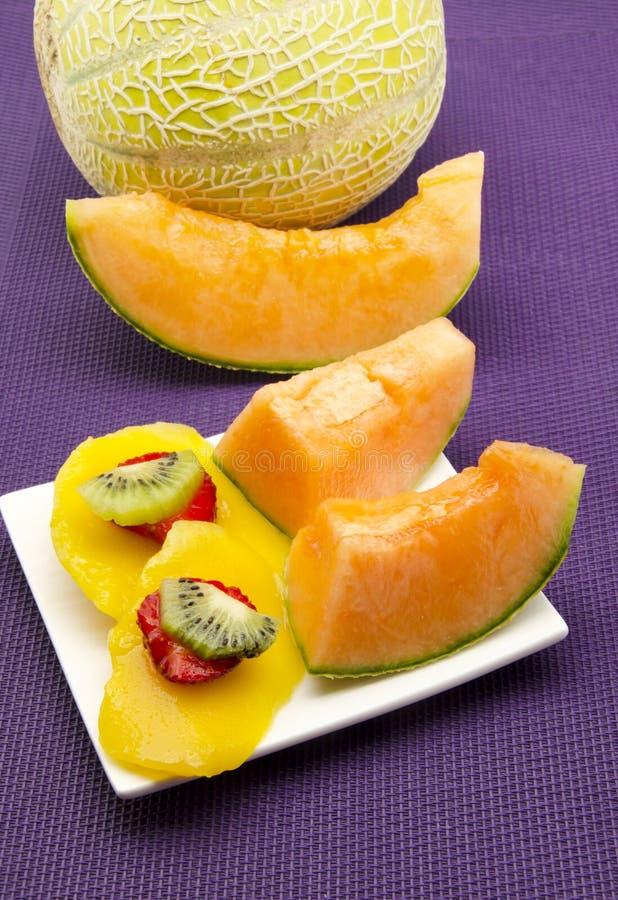 Download Melão foto de stock. Imagem de corte, vegetariano, alimento - 26520852