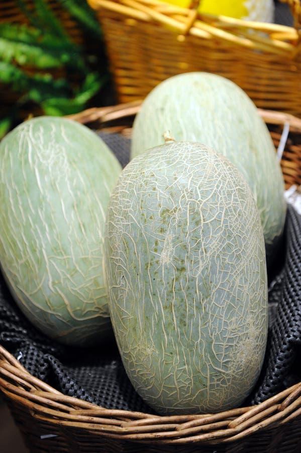 Melão de Hami (uma variedade de muskmelon) imagens de stock royalty free