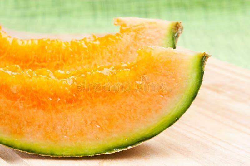 Melão do Cantaloupe fotografia de stock