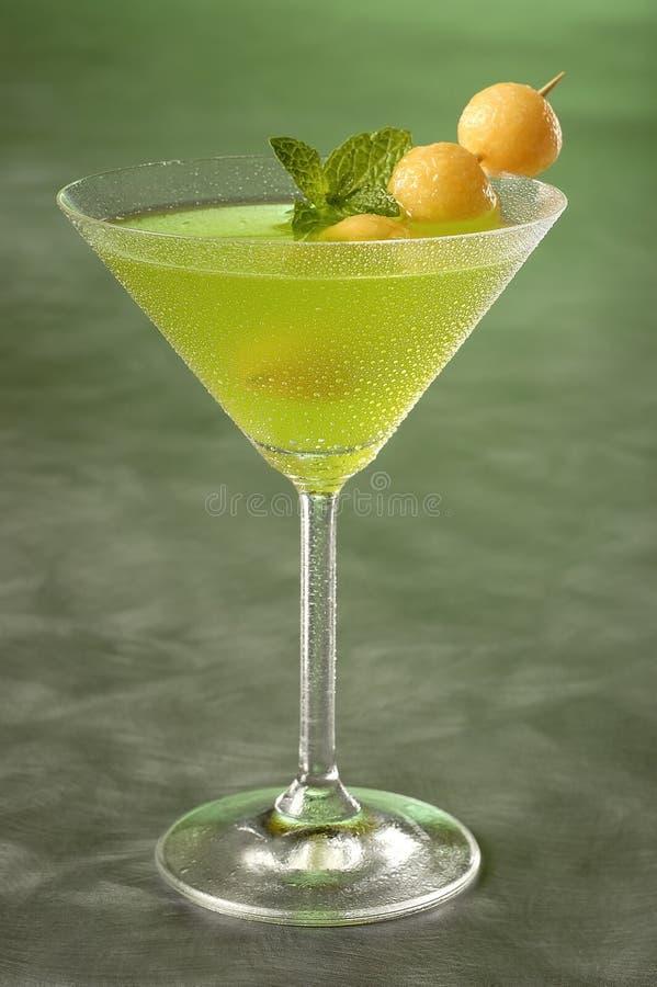 Melão Martini imagem de stock