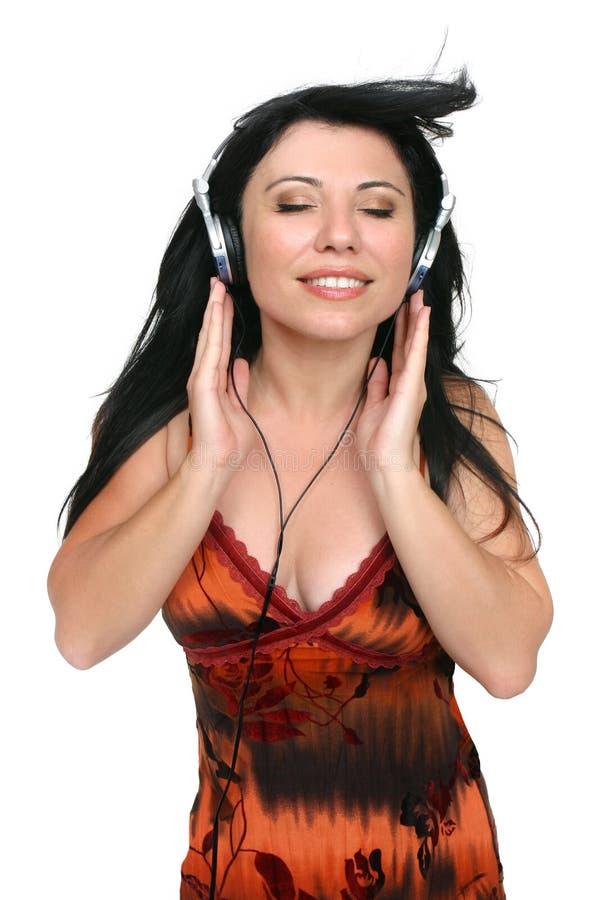 Melómano de Audiophile foto de stock royalty free