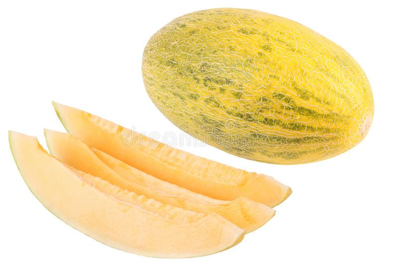 Melón amarillo imagen de archivo