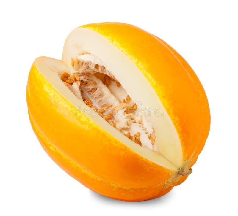 Melón estupendo aislado melón del cantalupo fotos de archivo libres de regalías