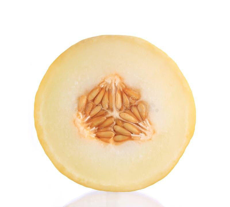 Melón fresco del cantalupo foto de archivo