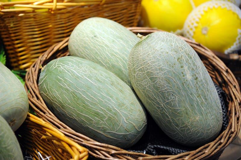 Melões doces imagem de stock