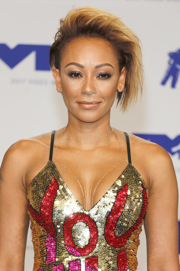 Mel B. At the 2017 MTV Video Music Awards held at the Forum in Inglewood, USA on August 27, 2017 stock photography
