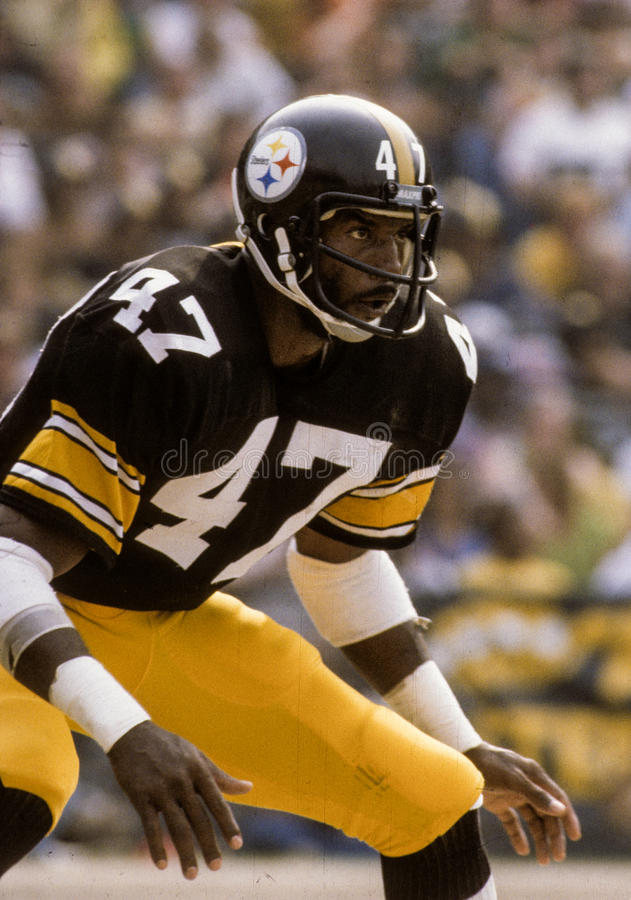 Mel Blount Pittsburgh Steelers photographie stock