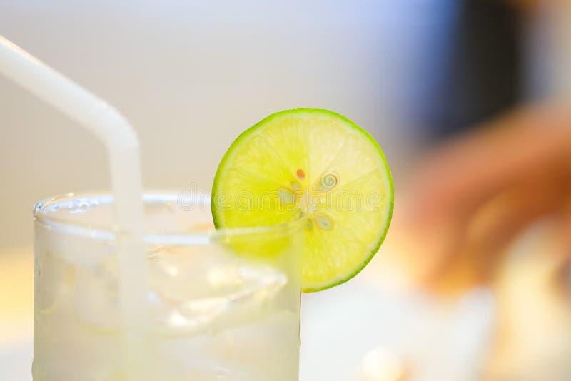Mel do limão em um vidro foto de stock royalty free