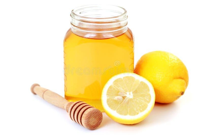 Mel e limão imagens de stock royalty free