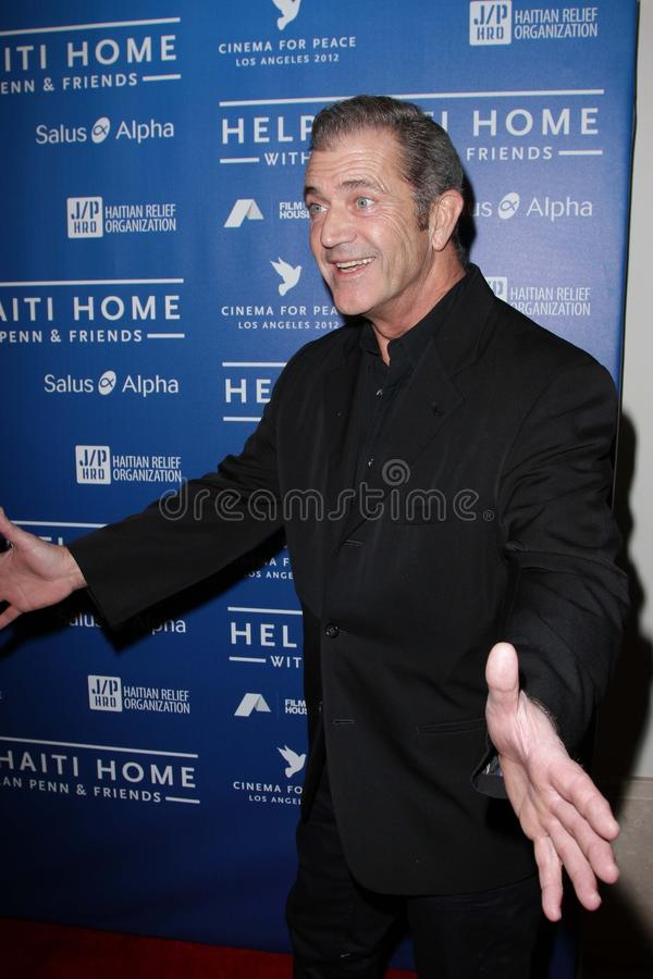 Download Mel Gibson editorial stock photo. Image of fundraiser - 23084683