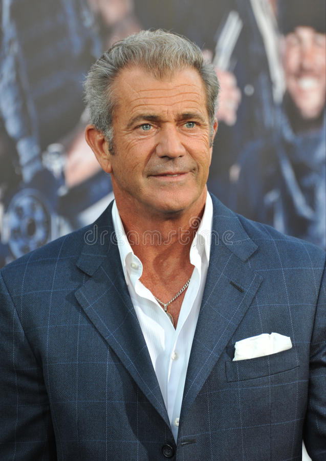 Mel Gibson imagens de stock