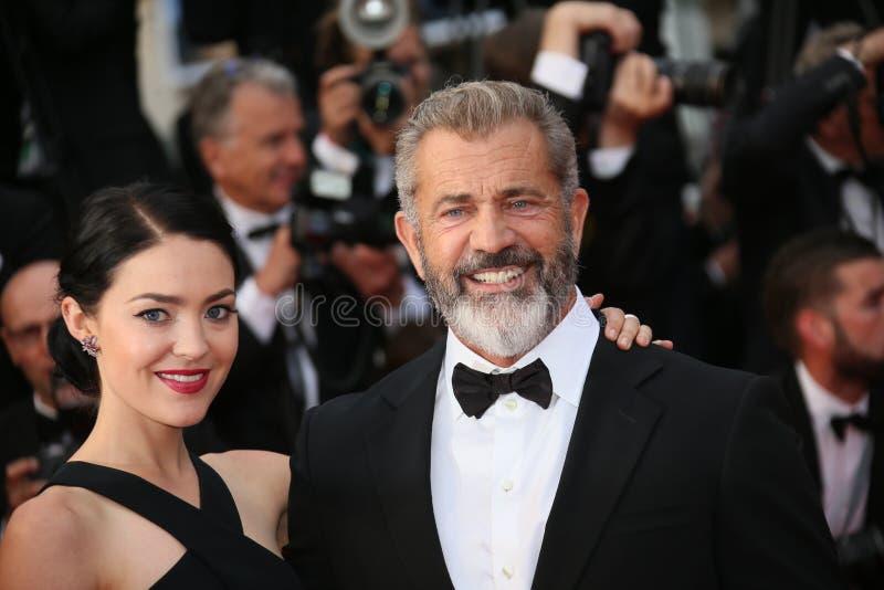 Mel Gibson e Rossalind Ross imagem de stock royalty free