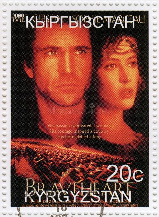 Mel Gibson en Sophie Marceau royalty-vrije stock fotografie