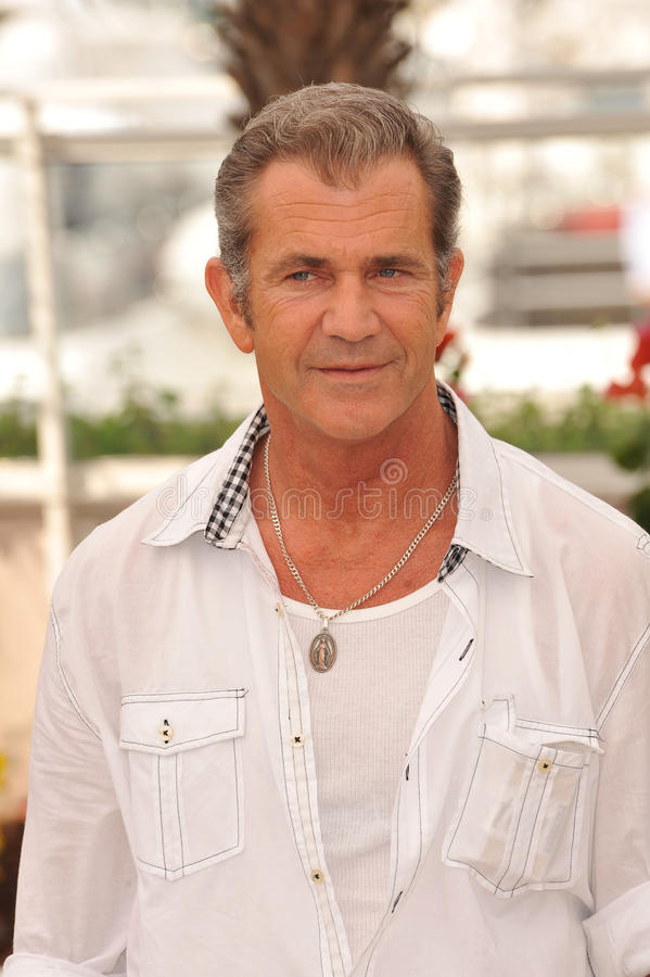 Mel Gibson imagens de stock royalty free