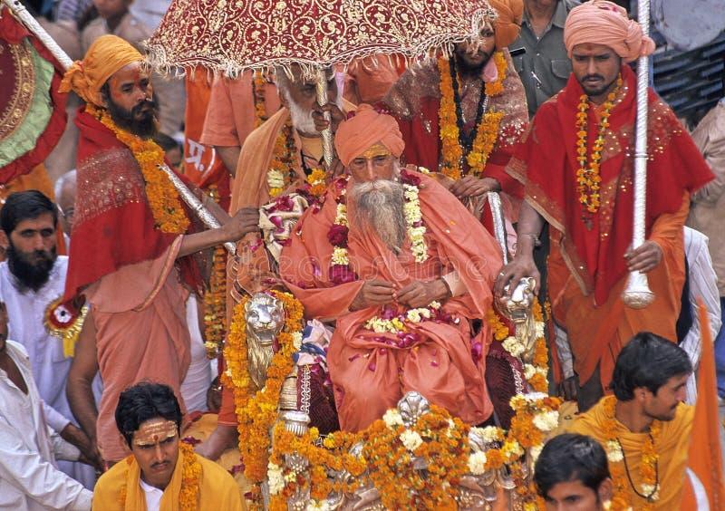 mela της Ινδίας kumbh στοκ εικόνες