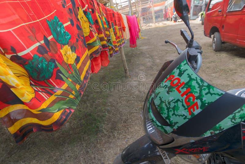 Mela Gangasagar, Kolkata στοκ εικόνες με δικαίωμα ελεύθερης χρήσης