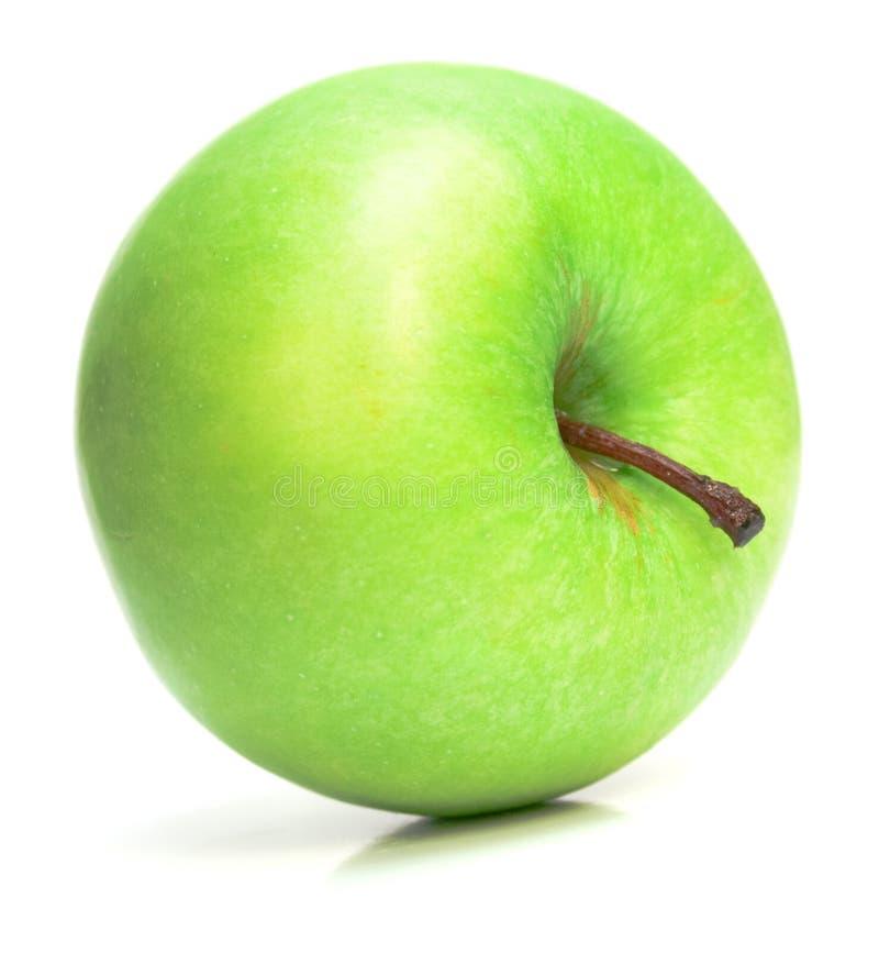 Mela verde sugosa fotografia stock