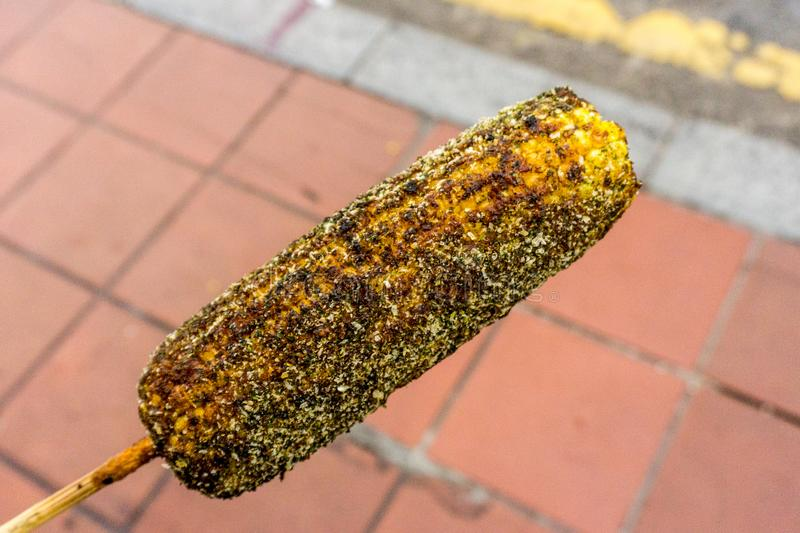Melacca, Malaysia. Around town - street corn royalty free stock photos