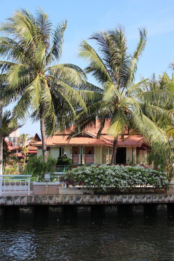 Melaka河巡航-马六甲,马来西亚 库存照片